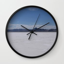 Salt Flats 2 Wall Clock