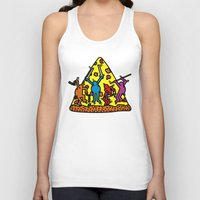 keith haring Tank Tops featuring Keith Haring & Turtle by le.duc