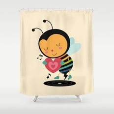 Bee Yourself Shower Curtain