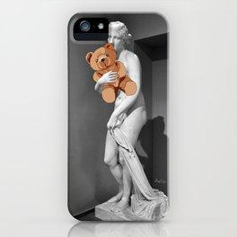 La venere con l'orsachiotto iPhone Case