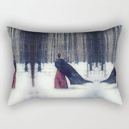 The Long Trek Rectangular Pillow