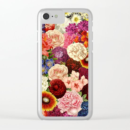 Spring Explosion Clear iPhone Case