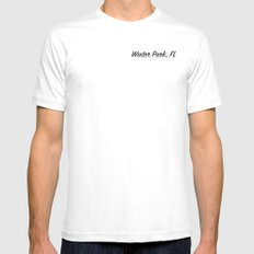 Winter Park, FL Mens Fitted Tee MEDIUM White