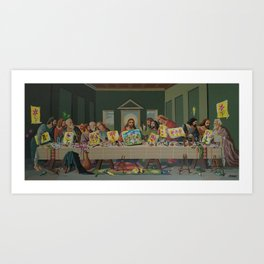 Drink and Dabble Art Print
