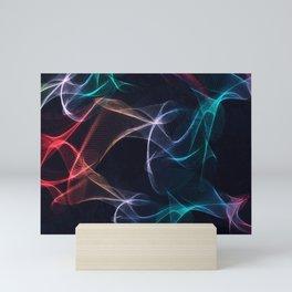 Ribbons of Light Mini Art Print