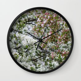 In the Orchard Wall Clock