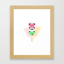 Too Kawaii To Eat! Framed Art Print