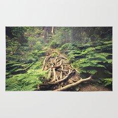 Misty Rainforest Rug