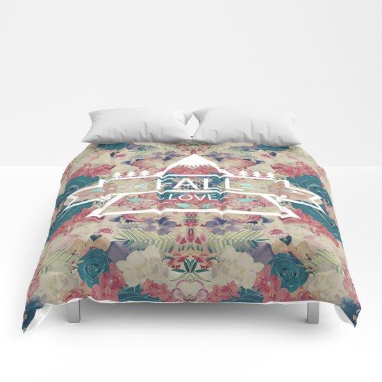 FALL LOVE Comforters