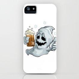 Drunk Ghost Halloween iPhone Case