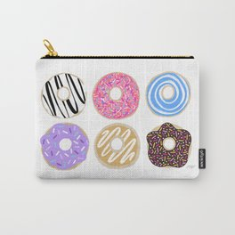 Donuts illustration Carry-All Pouch