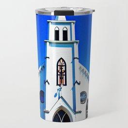 White Church Travel Mug