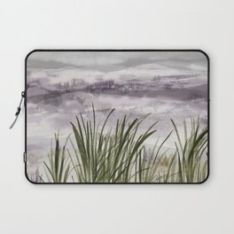 summer storm sea shore Laptop Sleeve