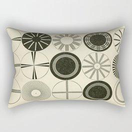 Vintage Astigmatic Chart Rectangular Pillow