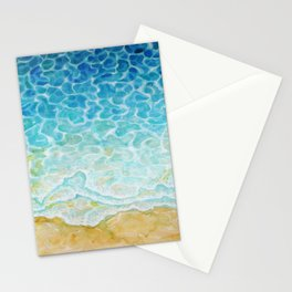 Watercolor Sea G564 Stationery Cards