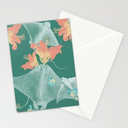 Lilies that sting Stationery Cards