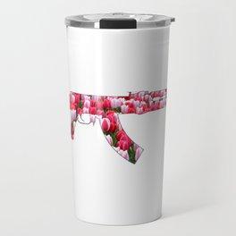 Flower Power Tulip AK47 Travel Mug