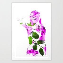 Bugambilia Art Print