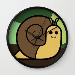 Cutesy Crawlies — Snail Wall Clock