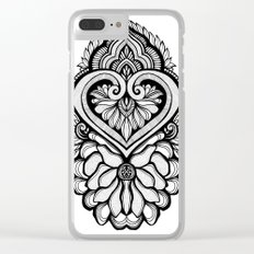 Sacred Flora Clear iPhone Case