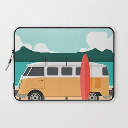 Road Trip on Van Laptop Sleeve