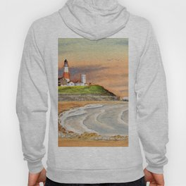 Montauk Point Lighthouse East Hampton New York Hoody