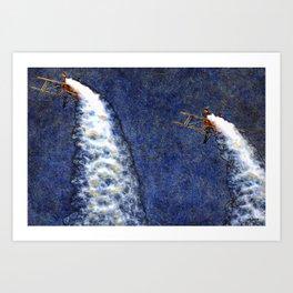 189 Breitling Wingwalkers Art Print