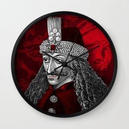 Vlad Dracula Gothic Wall Clock