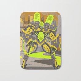 radioactive giant toxicrobot in power plant Bath Mat