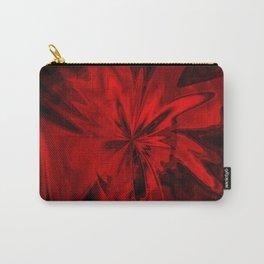 Red Velvet Flower Carry-All Pouch