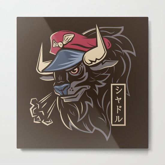 Master Bison Metal Print