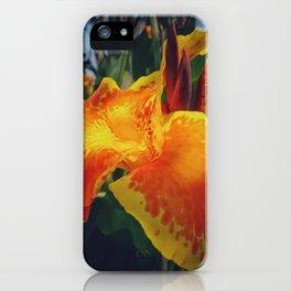 Indian Shot Flower iPhone Case