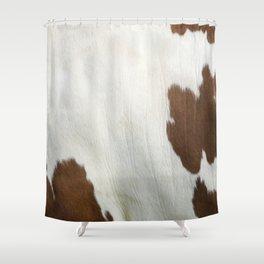 Cowhide V2 Shower Curtain