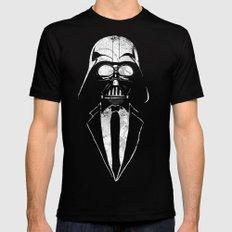 Darth Vader Gentleman Mens Fitted Tee MEDIUM Black