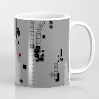 dna Mugs featuring Digital DNA by dBranes
