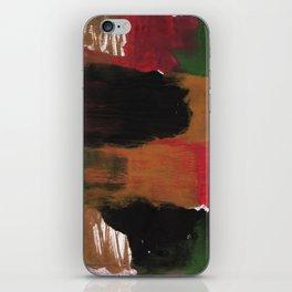 Multicolor watercolor iPhone Skin