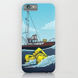 Jaws: Orca Illustration iPhone Case