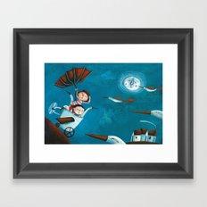 The trip Framed Art Print