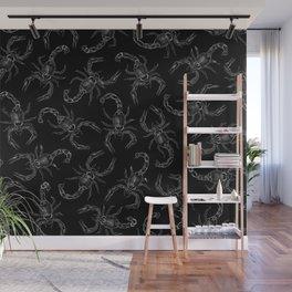 Scorpion Swarm II Wall Mural