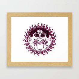 Gorgon Medusa Framed Art Print