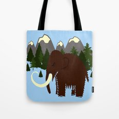 Woolly Mammoth Tote Bag