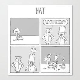 Moonbeard - HAT Canvas Print