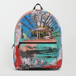 Close your eyes and breathe deeply Backpack