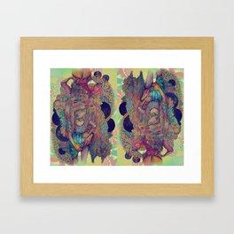 you were feeling all hazy  Framed Art Print