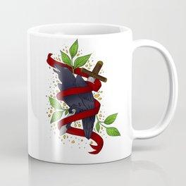 The Raven and the Sword Coffee Mug