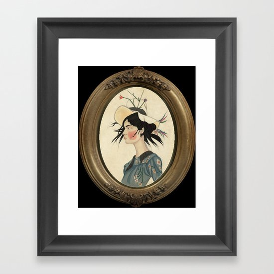 Tibet Framed Art Print