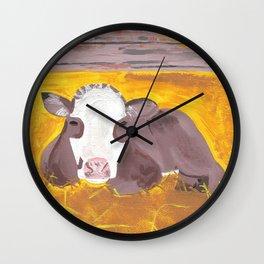 A Heifer Calf Named Darla Wall Clock