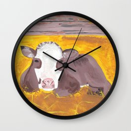 A Heifer Calf Named Darla Wall Clock