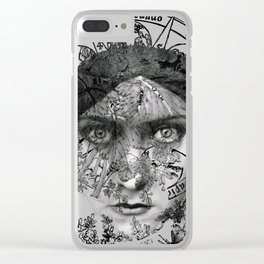 The Eyes of Alchemy Clear iPhone Case