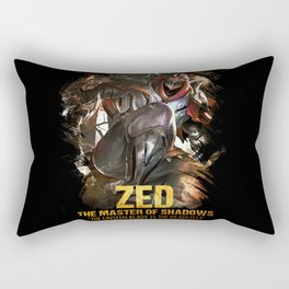 League of Legends ZED - The Master Of Shadows - Video games Champion Rectangular Pillow